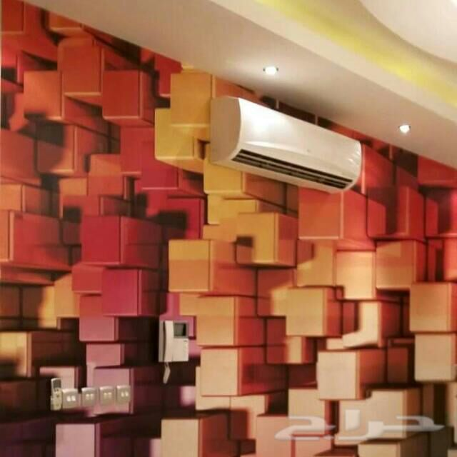 : ورق جدران ثلاثي ابعاد حجر : الأفكار الداخلية